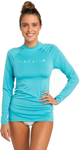 Rip Curl Sunny Rays Relaxed Langærmet UV T shirt Damer, light blue